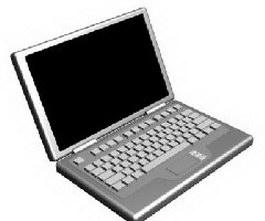 Laptop 3d model preview