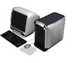Apple Mac 3d preview