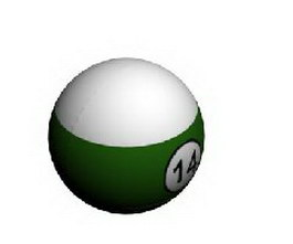Billiard pool ball 3d preview