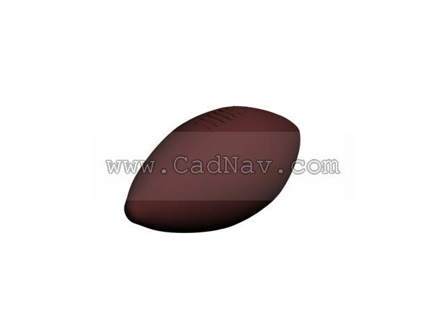 Rugby (football) 3d rendering