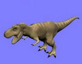 Tyrannosaurus 3d model preview