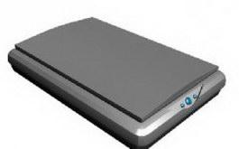 Scanner 3d model preview