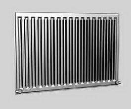 Aluminium alloy radiator 3d model preview