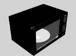 Microwave Oven 3d preview