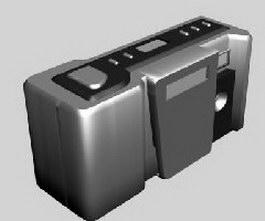 Digital Camera 3d model preview