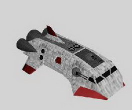 Assault Transport 3d model preview