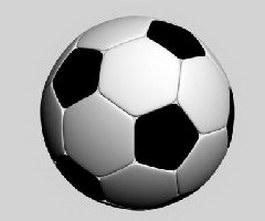 Football soccer 3d preview
