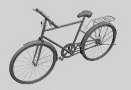 Utility bicycle 3d preview