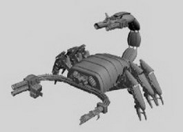 Scorpion fighter 3d preview