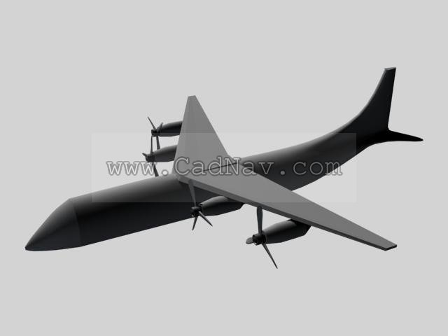 Guided missile fighter plane 3d rendering