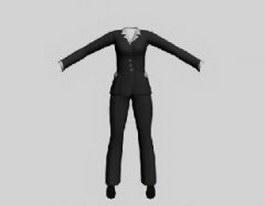 Business attire for women 3d preview