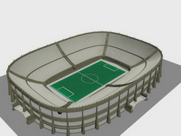 Football stadium 3d preview