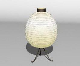 IKEA Spherify bedside lamp 3d preview
