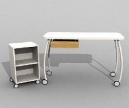 IKEA WORKBENCHES AND WORK TABLES 3d model preview
