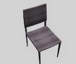 Ilinois home Metal Dining Chairs 3d model preview