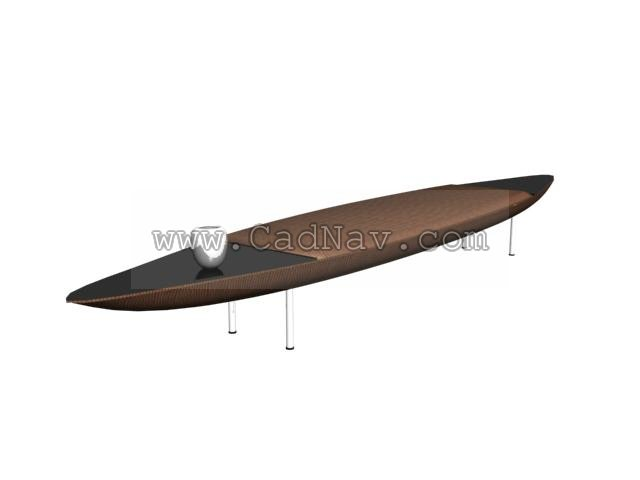 Ilinois home ironing board 3d rendering
