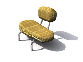 Camping Children Chairs 3d model preview