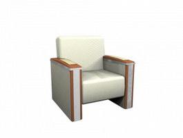 Reception room Sofas 3d model preview