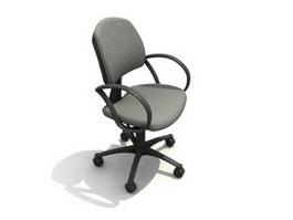 Swivel armchair 3d preview