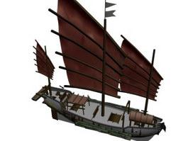 Tern schooner 3d preview