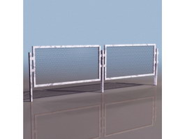 Metal Barriers 3d preview