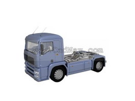 Euro Truck 3d model preview