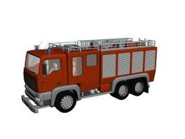 Fire Truck 3d preview