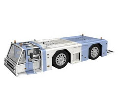 Airport service truck 3d preview