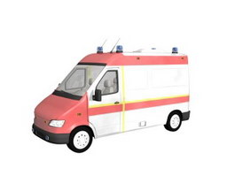 Ambulance 3d preview