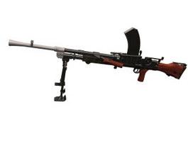 Mk 14 Enhanced Battle Rifle 3d model preview