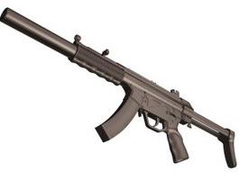 Heckler & Koch MP5 3d preview