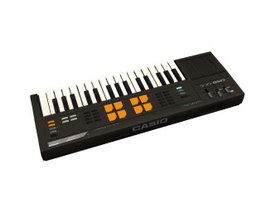 Casio keyboard 3d preview