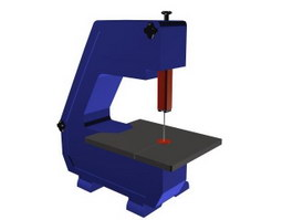 Mini band saw 3d preview