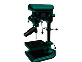 Hand bench drill 3d preview