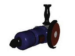 Hand grinder 3d model preview