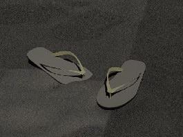 Flip-flop 3d preview
