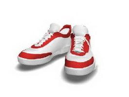 Men's sports shoes 3d preview