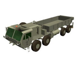 Heavy Expanded Mobility Tactical Truck 3d model preview