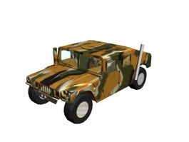 HUMMER JEEP 3d preview