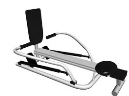 Indoor Rowing Machine 3d preview