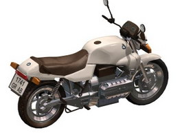 BMW Motorrad K1300GT sport touring motorcycle 3d model preview