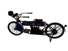 Harley-Davidson 1912 motorcycles 3d preview