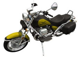 Moto Guzzi California Special motorcycle 3d model preview
