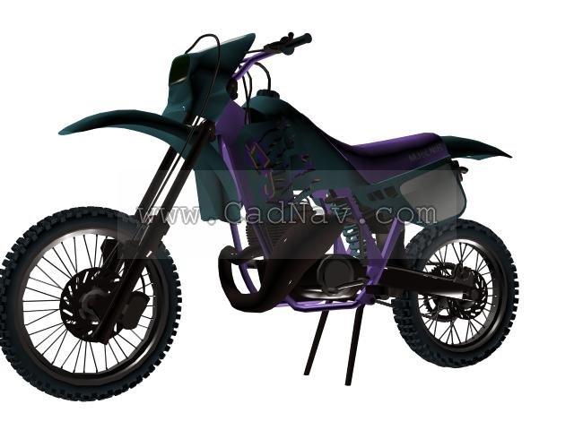 Mjölnir motorcycle 3d rendering