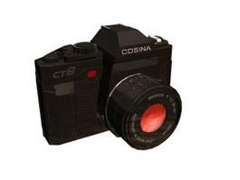 COSINA CT9 camera 3d model preview