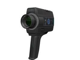 Cosina Super 8 film camera 3d model preview