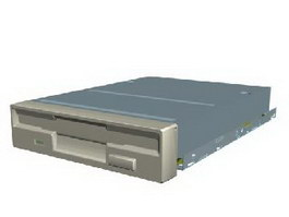 Floppy drive 3d preview