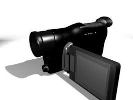 Panasonic Handycam 3d model preview
