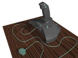 Microsoft Gamepad 3d model preview