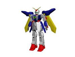 Gundam 3d preview